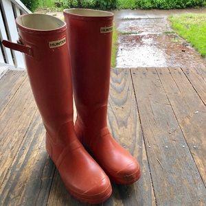 Hunter Rain Boots + welly socks